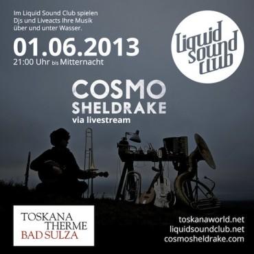 01.06.2013 – Liquid Sound Club – Cosmo Sheldrake in Bad Sulza