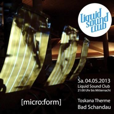04.05.2013 – Liquid Sound Club [micro:form] in Bad Schandau