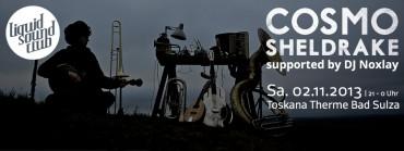 02.11.2013 – Cosmo Sheldrake & Noxlay