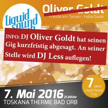 07.05.2016 – Less statt Goldt