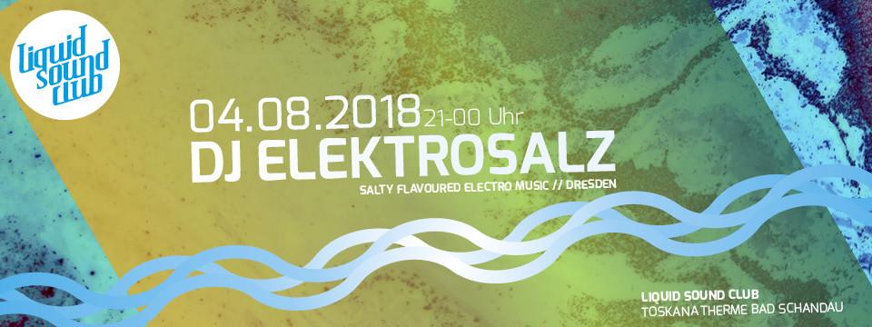 04.08.2018 – DJ Elektrosalz
