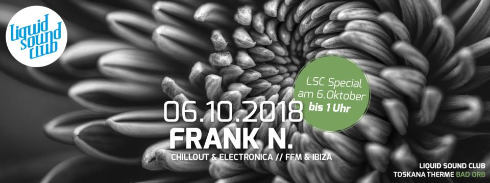 06.10.2018 – Club*Special mit Frank N.