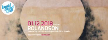 01.12.2018 – Rolandson