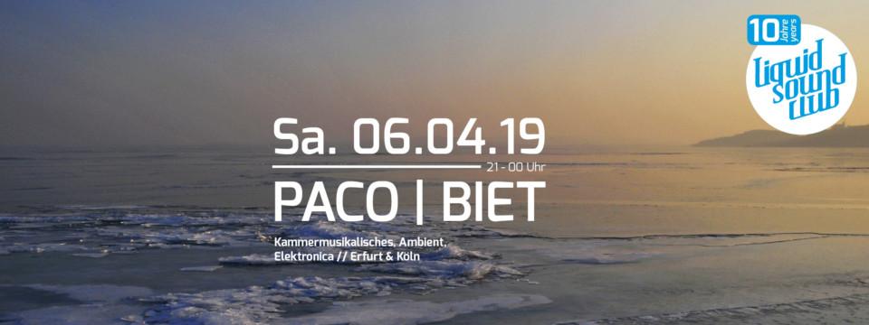 06.04.2019 – PACO | BIET